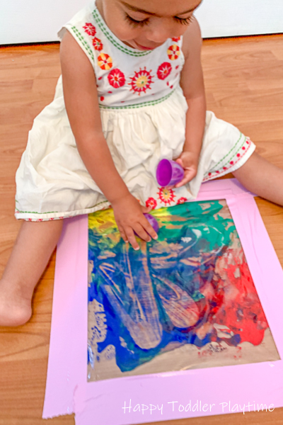 craft activity and Painting for babies and toddlers