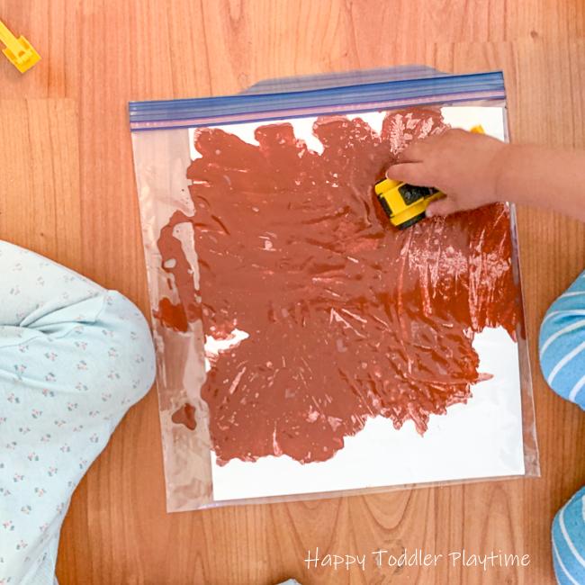 Mess Free Muddy Truck Painting