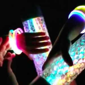 #2 Glow in the Dark Water Bead Sensory Bottle