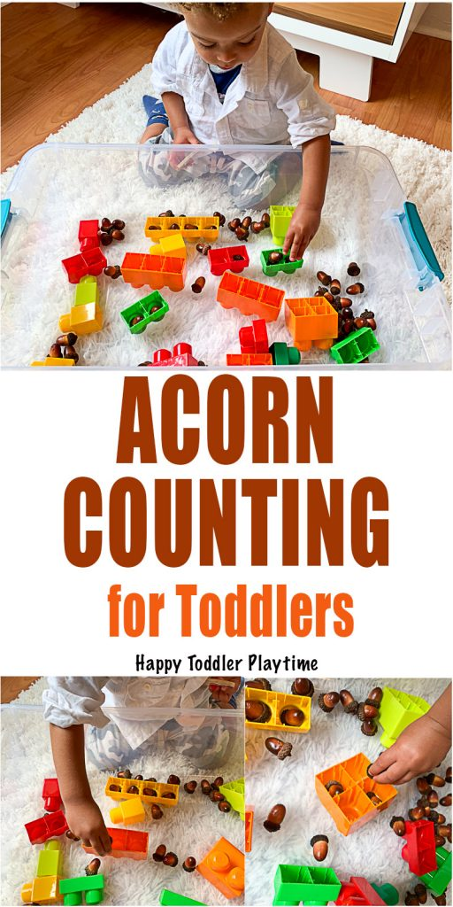 a fall math activity for toddlers