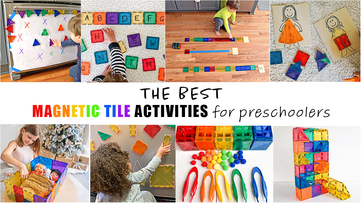 25 Magnetic Tile Activities
