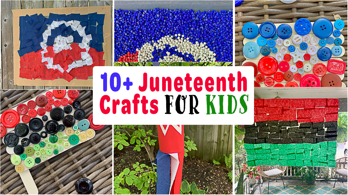 10+ Fun & Easy Juneteenth Crafts and Activities for Kids