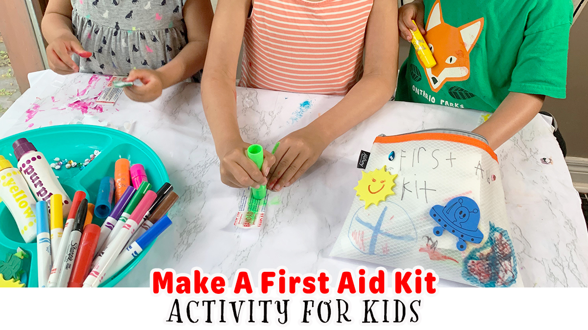 Make a First Aid Kit Activity for Kids