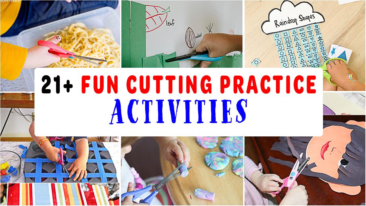 21+ Exciting Cutting Practice Activities for Preschoolers