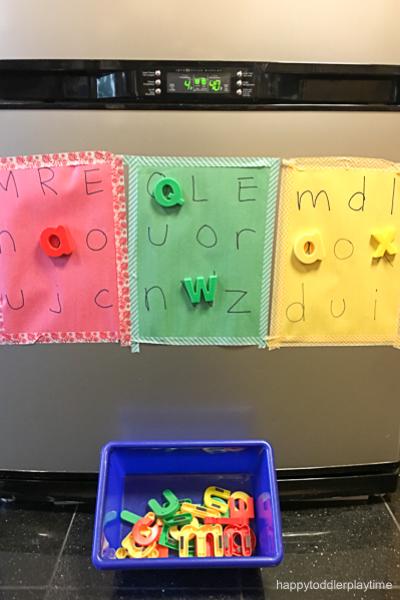 50 Easy Alphabet Activities for Preschoolers